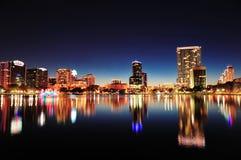 Orlando alla notte Immagini Stock Libere da Diritti