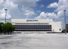 Orlando Amway Arena Awaits Demolition (1) Royalty Free Stock Image