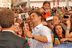 Orlando Bloom al Giffoni Film Festival 2015 Royalty Free Stock Image