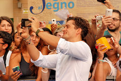 Orlando Bloom al Giffoni Film Festival 2015 Royalty Free Stock Photography
