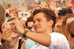 Orlando Bloom al Giffoni Film Festival 2015 Royalty Free Stock Photos