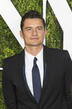 Orlando Bloom. British film and stage actor Orlando Bloom arrives on the red carpet at the 71st Annual Tony Awards held at Radio City Music Hall in New York on Royalty Free Stock Image