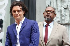Orlando Bloom/Forest Whitaker Royalty Free Stock Photo