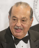 Carlos Slim. Mexican billionaire business tycooon and philanthropist Carlos Slim arrives on the red carpet for the Friars Foundation gala at the Waldorf Astoria Stock Photo