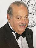 Carlos Slim. Mexican billionaire business tycooon and philanthropist Carlos Slim arrives on the red carpet for the Friars Foundation gala at the Waldorf Astoria Royalty Free Stock Photos