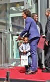 Orlando Bloom /son Flynn Fotos de archivo