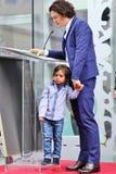 Orlando Bloom/son Flynn Stock Image