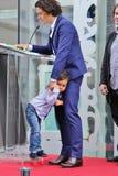 Orlando Bloom/son Flynn Royalty Free Stock Photos
