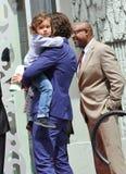 Orlando Bloom/son Flynn Stock Photo