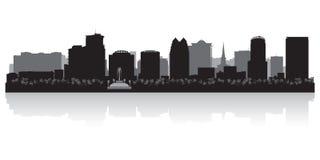 Orlando city skyline silhouette vector illustration. Orlando USA city skyline silhouette Background vector illustration vector illustration
