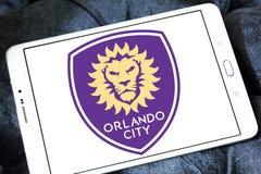Orlando City Soccer Club-embleem stock afbeelding