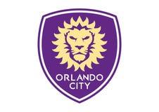 Orlando City Soccer Logo ilustración del vector