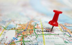 Florida Map Orlando.Map City Orlando Central Florida Stock Images Download 21 Royalty