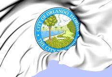 Orlando Coat of Arms, USA. Royalty Free Stock Photo