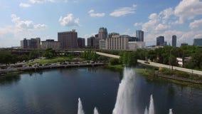 Orlando del centro, Florida video d archivio