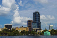 Orlando del lago Eola Imagenes de archivo