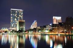 Orlando downtown architecture Royalty Free Stock Photos