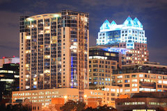 Orlando downtown architecture Royalty Free Stock Images