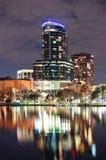 Orlando downtown architecture Royalty Free Stock Photo