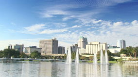 Orlando du centre, la Floride - laps de temps banque de vidéos