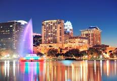 Orlando en la noche Fotos de archivo