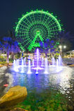 The Orlando Eye. ORLANDO, FLORIDA, USA - APRIL 30, 2016: The Orlando Eye is a 400 feet tall ferris wheel in the heart of Orlando and the largest observation Stock Photos
