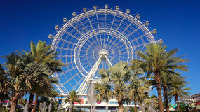 Orlando Eye Observation Wheel in Orlando, Florida. The Orlando Eye, in the heart of Orlando, Florida is the largest observation wheel on the east coast royalty free stock photography