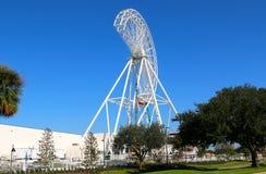 Orlando Eye under konstruktion i Orlando, Florida Arkivbild