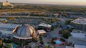 ORLANDO FEB 6: Aerial view of Orlando in Orlando, Florida. On Feb 6, 2019 stock video
