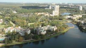 Orlando, FL aerial view stock video footage