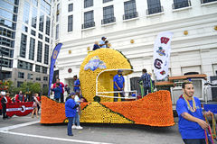 ORLANDO FL - December 30, 2013 -  Florida Citrus Parade in Orlan Stock Photography