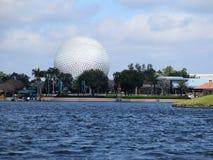 ORLANDO, FL - FEB 2015: Disney Epcot Space Ship Earth Stock Photography