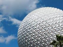 ORLANDO, FL - FEB 2015: Disney Epcot Space Ship Earth Stock Images