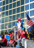 ORLANDO FL - November 9, 2013 -  Veteran s Day Parade in Orlando Stock Photo