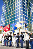 ORLANDO FL - November 9, 2013 -  Veteran' s Day Parade in Orlando Stock Photography