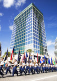 ORLANDO FL - November 9, 2013 -  Veteran' s Day Parade in Orlando Stock Photo