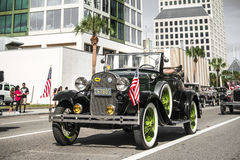 ORLANDO FL - November 9, 2013 -  Veteran's Day Parade in Orlando Stock Images