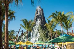 Volcano Bay Water Park Stock Photography