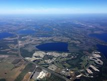 Orlando, Florida From the Air Royalty Free Stock Photo