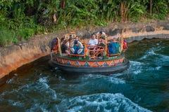 People having fun Kali River Rapids attraction at Animal Kingdom in Walt Disney World area 6