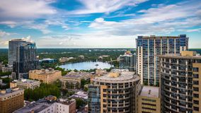 Orlando Florida Cityscape stock video