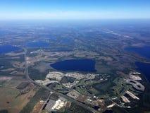 Orlando, Florida dall'aria Fotografia Stock Libera da Diritti