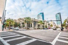 ORLANDO, FLORIDA, DE V.S. - DECEMBER, 2018: Orlando Public Library stock fotografie