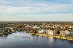 Orlando, Florida - DEC, 2017 - Orlando Skyline view. From balloon royalty free stock photos