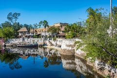 The Animal Kingdom at Walt Disney World. Orlando, Florida: December 1, 2017: The Animal Kingdom at Walt Disney World. The Animal Kingdom opened in 1998 Stock Photos