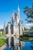 Cinderella Castle at The Magic Kingdom, Walt Disney World. Orlando, Florida: December 2, 2017: Cinderella Castle at The Magic Kingdom, Walt Disney World.  In Stock Photos