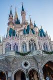 Cinderella Castle at The Magic Kingdom, Walt Disney World. Orlando, Florida: December 2, 2017: Cinderella Castle at The Magic Kingdom, Walt Disney World. In Royalty Free Stock Photography