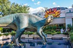 DinoLand U.S.A. at the Animal Kingdom at Walt Disney World. Orlando, Florida: December 1, 2017:  DinoLand U.S.A. at the Animal Kingdom at Walt Disney World.  The Royalty Free Stock Photos