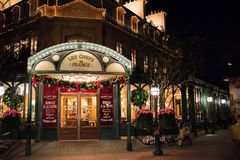 France Pavilion at Epcot. Orlando, Florida: December 4, 2017:  France Pavilion at Epcot.  Epcot is a theme park in Walt Disney World Stock Images