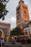 Morocco Pavilion at Epcot. Orlando, Florida: December 4, 2017: Morocco Pavilion at Epcot at Walt Disney World.  Epcot opened in October 1, 1982 Stock Images